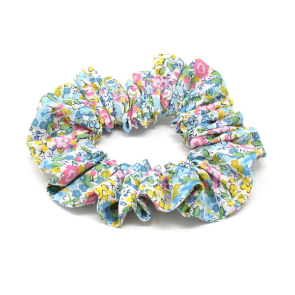 Liberty print cotton fabric scunchie