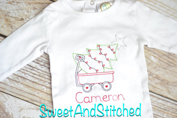 Personalized Baby Boy 1st Christmas outfit - baby Boy christmas Shirt - Baby boy christmas hat with name