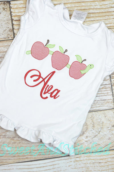 Girls Back to School Shirt personalized, girl back to school tee