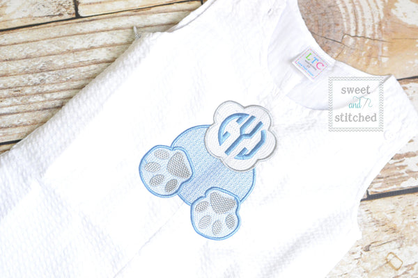 Monogrammed Boys Easter Romper, Baby boy Easter Outfit with monogrammed bunny butt, bunny tail design, easter Jon Jon