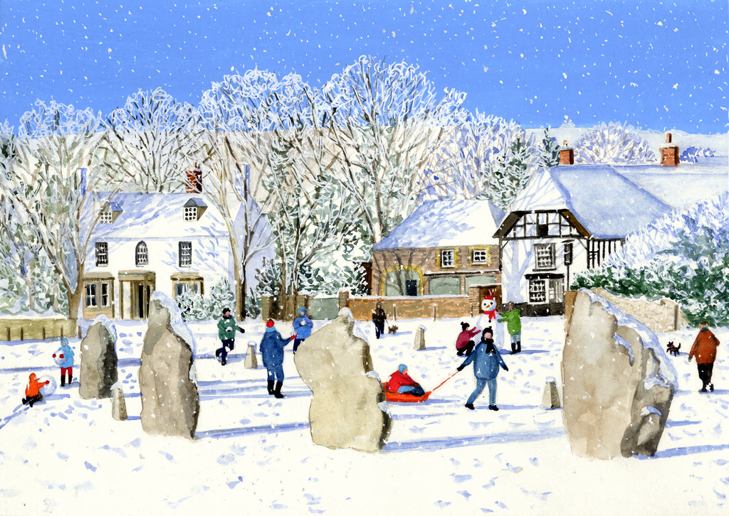 Avebury in Winter