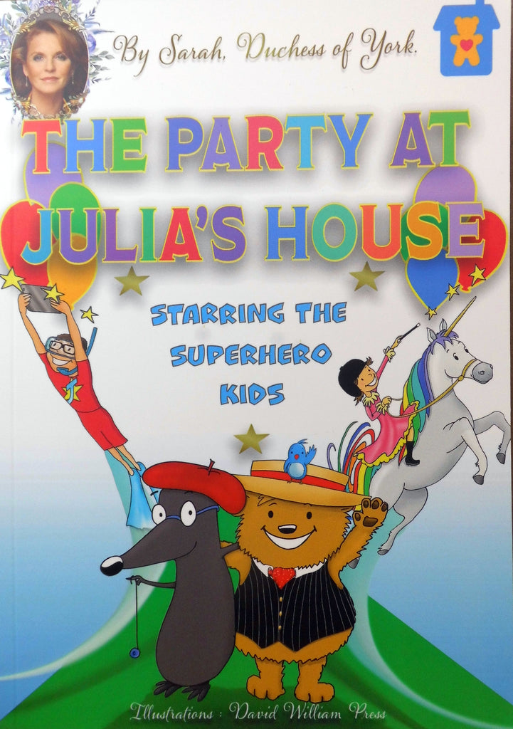 The Party At Julia's House - Children's Book