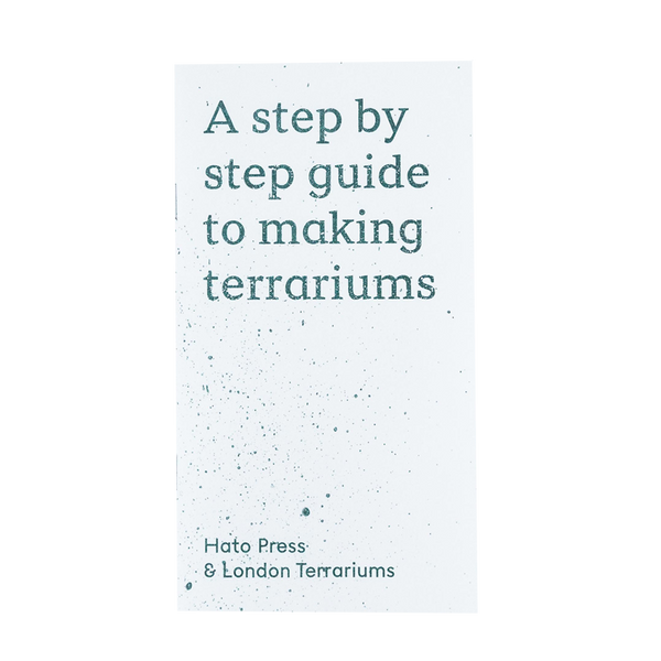 London Terrariums - A Step By Step Guide To Making Terrariums book