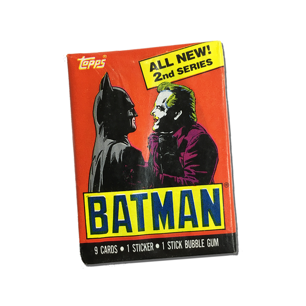 Batman Topps trading cards