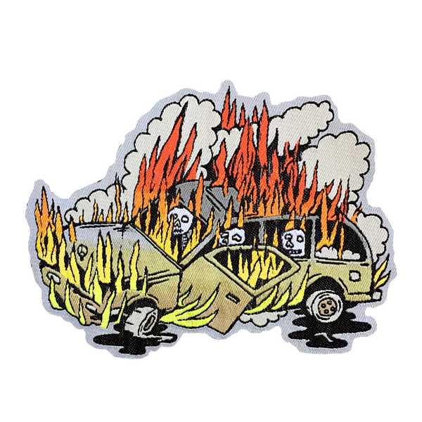 Killer Acid - SUV On Fire patch