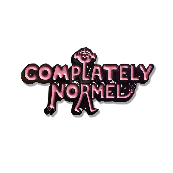 Stephen Maurice Graham - 'Complately Normal' pin
