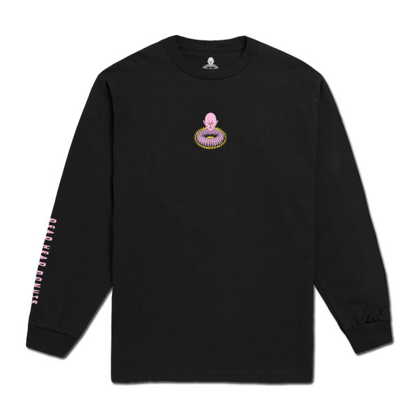 Dead Head Donuts - Long Sleeve T-Shirt - Black