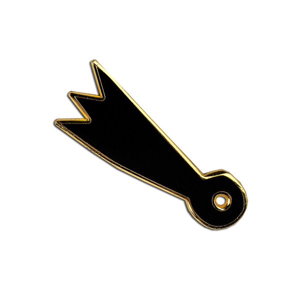 Pirrip Press - Falling Star pin