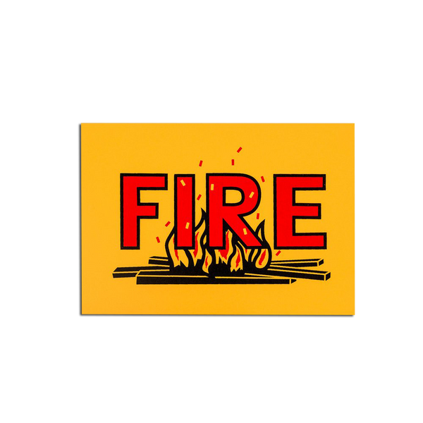 Pirrip Press - Fire Greetings card