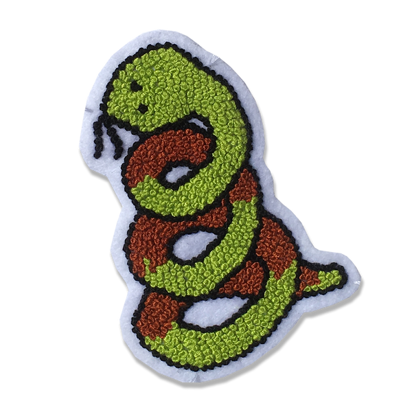 Good Luck World - Snake patch
