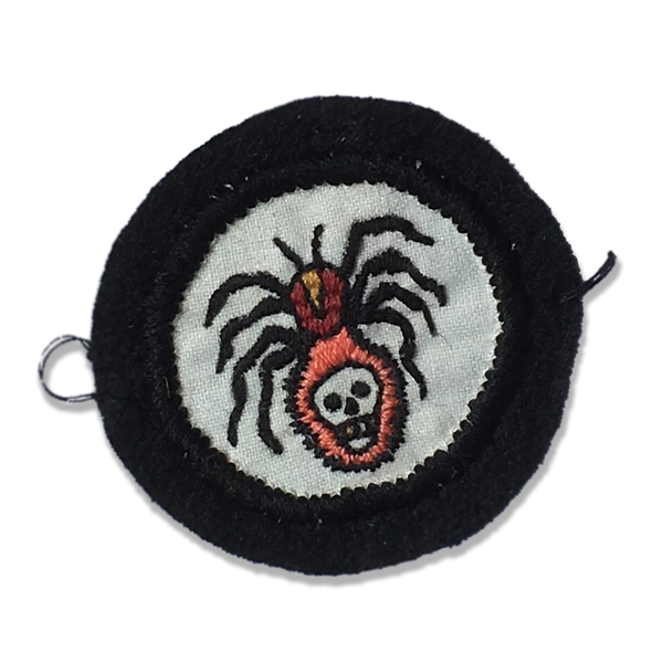 Good Luck World - Spider patch