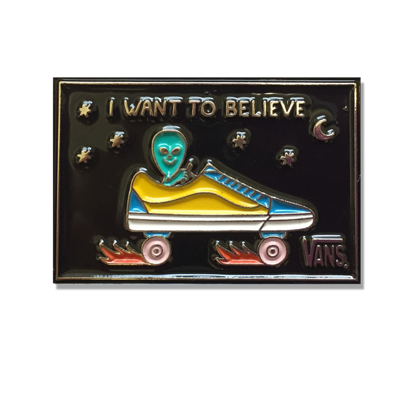 Stephen Maurice Graham - I Want To Believe pin