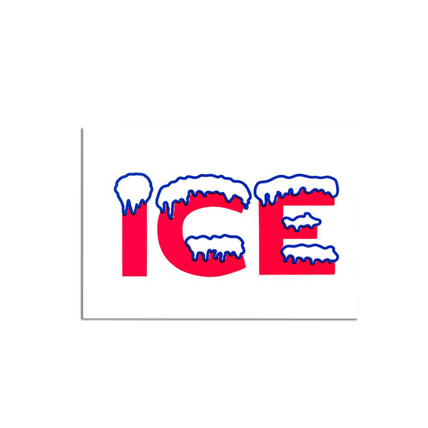 Pirrip Press - Ice Greetings card