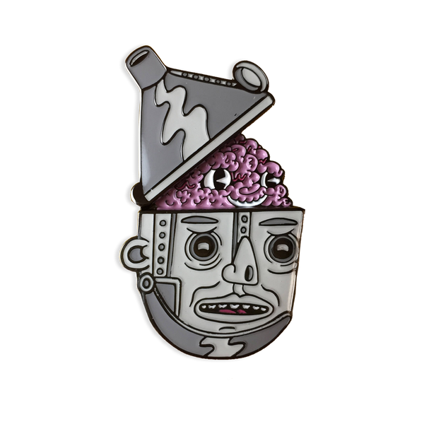 Killer Acid - Head Poppin' Tin Man pin