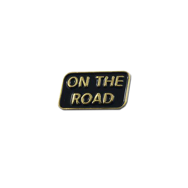 Explorer's Press - On The Road pin
