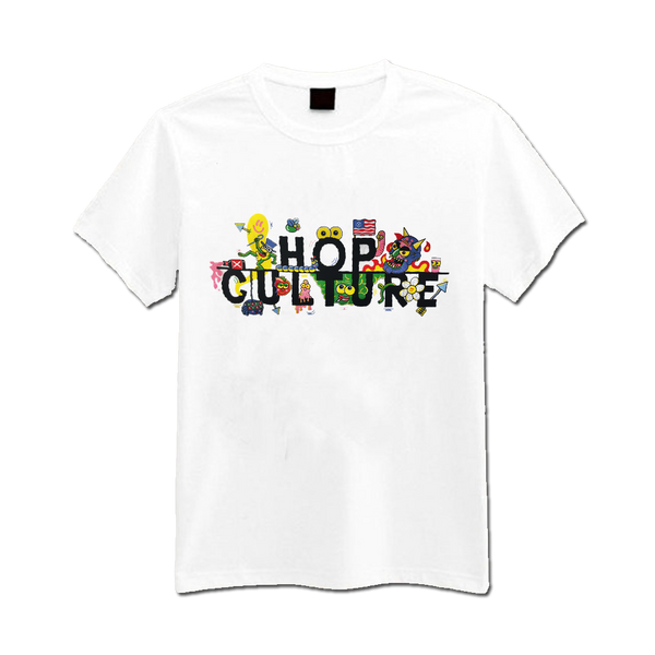 Sam Taylor - Hop Culture t-shirt - white