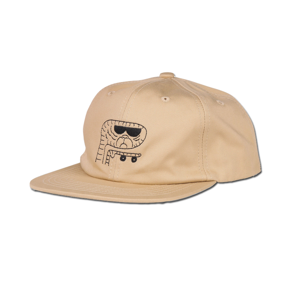 Shakastics x Ken Kagami 4 - Unstructured 6 Panel Hat - Khaki