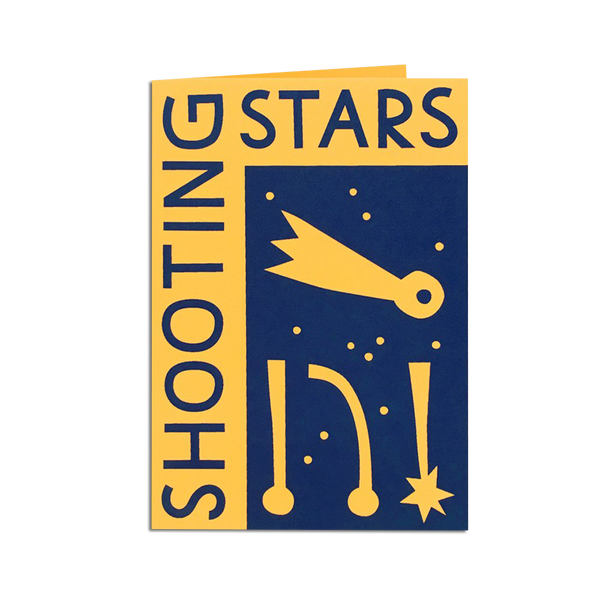 Pirrip Press - Shooting Stars card