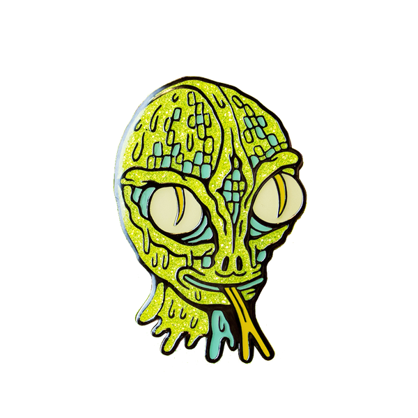 Killer Acid - They Live Among Us pin