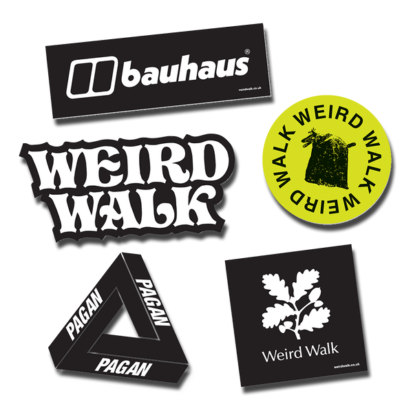 Weird Walk - sticker pack