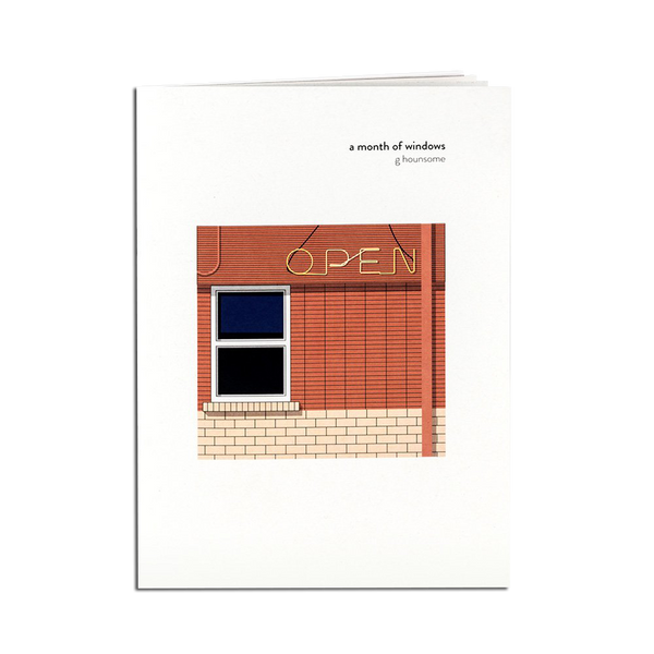 Pirrip Press - A Month of Windows zine
