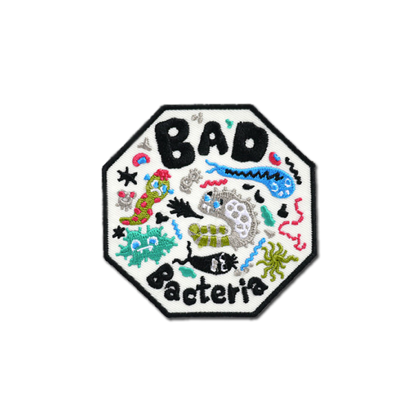 Bel's Art World - Bad Bacteria patch
