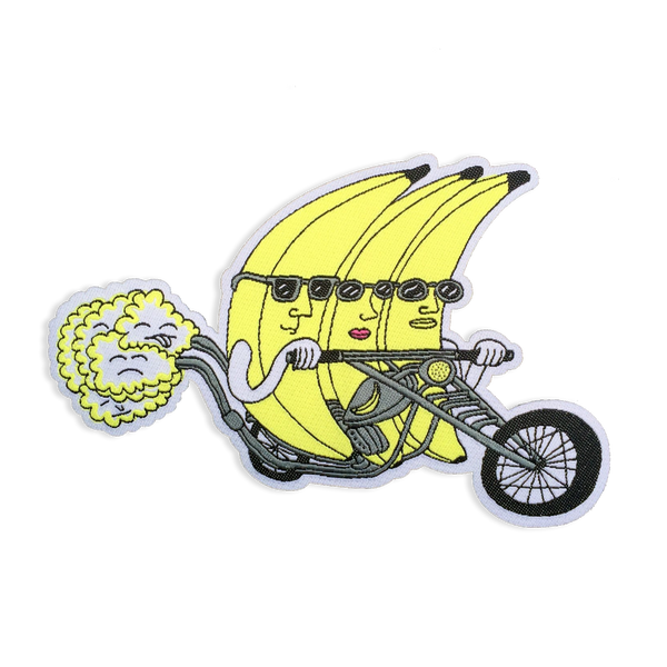Killer Acid - Banana Riders patch