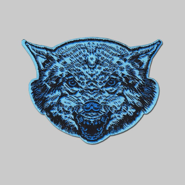 French - Wolf woven patch
