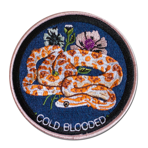 Stay Home Club - Cold Blooded Patch