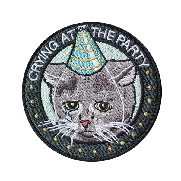 Stay Home Club - Crying at the party patch