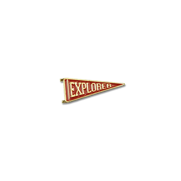 Explorer's Press - Explorer pin