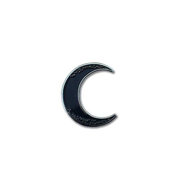 Explorer's Press - Crescent Moon pin