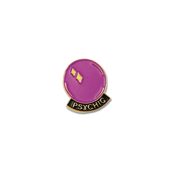 Explorer's Press - Psychic pin