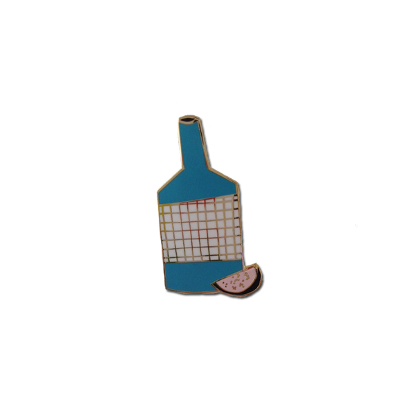 We Are Out Of Office - A Fruity Bottle pin
