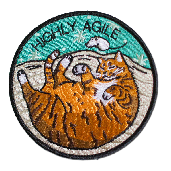 Stay Home Club - Highly Agile Patch