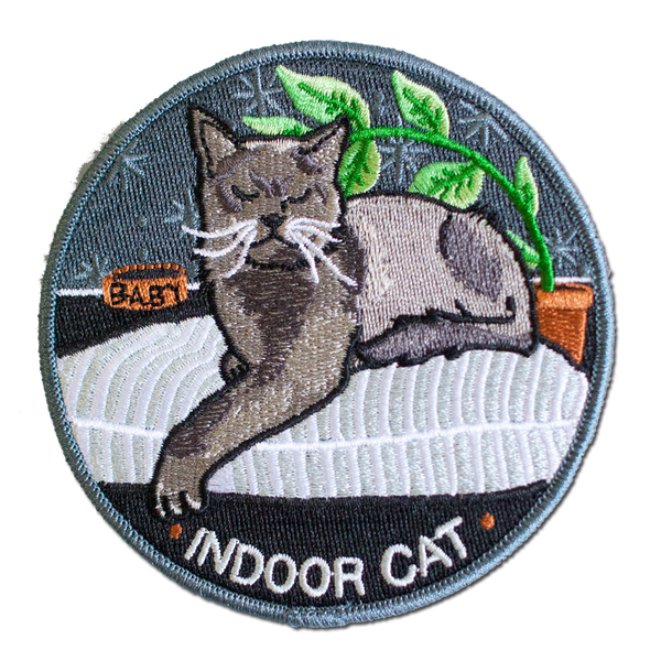 Stay Home Club - Indoor Cat Patch