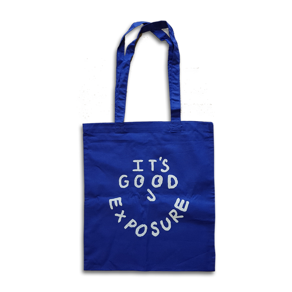 Ollie Silvester - It's  Good Exposure tote