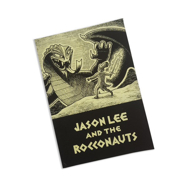 Jason Lee and The Rocconauts - Jon Horner comic