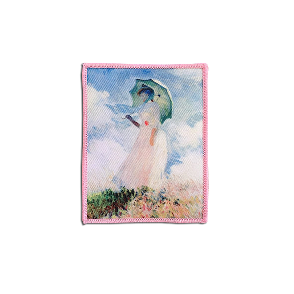 Jenni's Prints - Monet's 'Woman with Parasol' patch