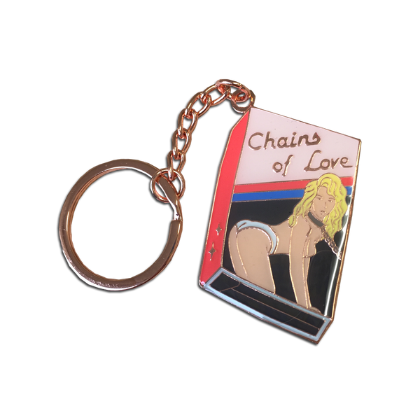 Rosehound Apparel - Chains of Love VHS keychain