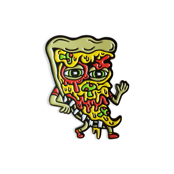 Killer Acid - Pizza Friend pin