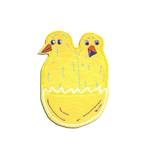 MesseJesse - Spring Chicks patch