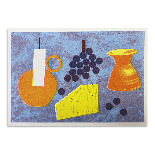Lizzie Lomax - Wine Table print
