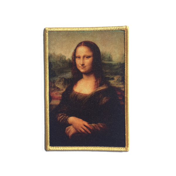 Jenni's Prints - Mona Lisa patch