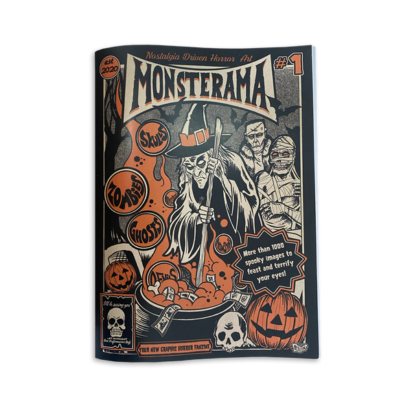 Allan Graves - Monsterama book