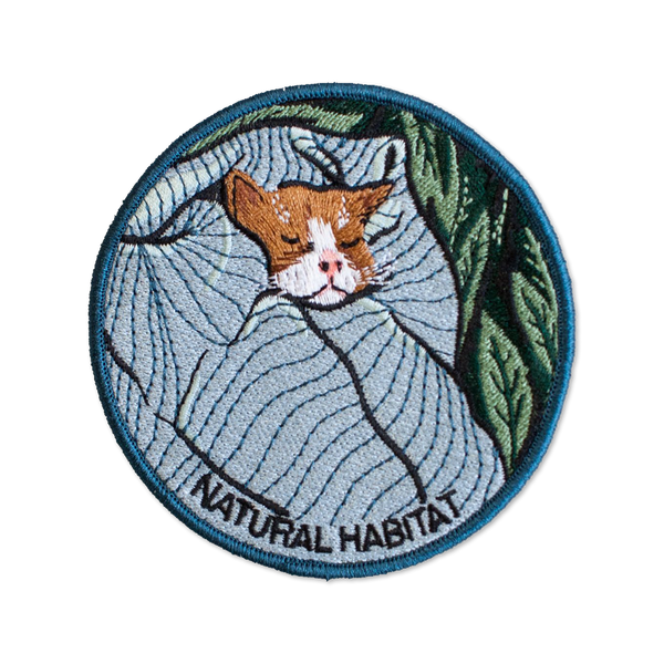 Stay Home Club - Natural Habitat Cat patch