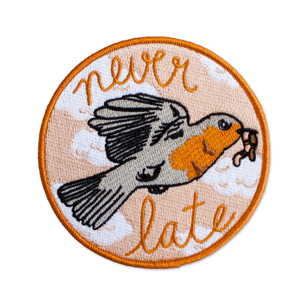 Stay Home Club - Never Late patch