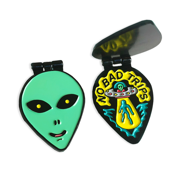 Killer Acid - No Bad Trips pin