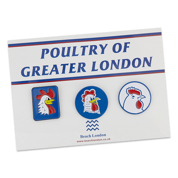 Poultry of Greater London pin set