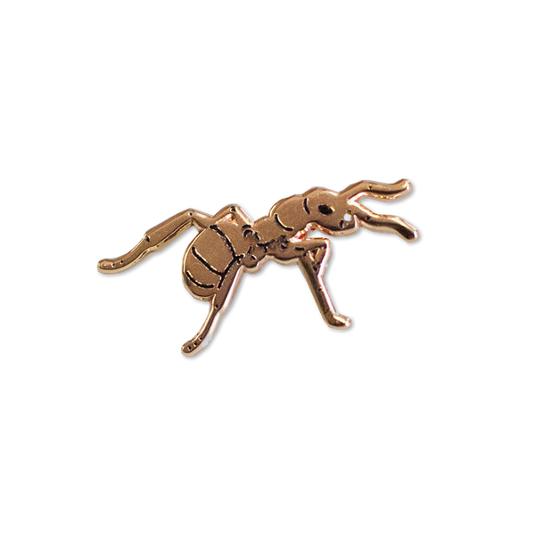 Stay Home Club - Queen Ant pin badge